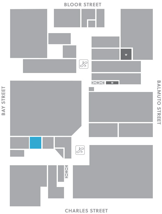 Concourse level, A11 store mapped location