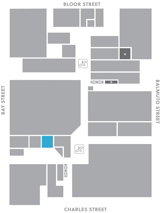 Concourse level, A12 store mapped location