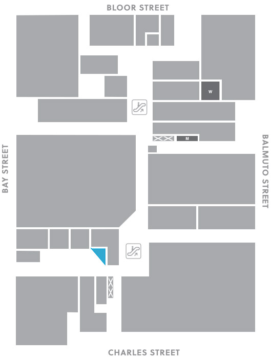 Concourse level, A15 store mapped location