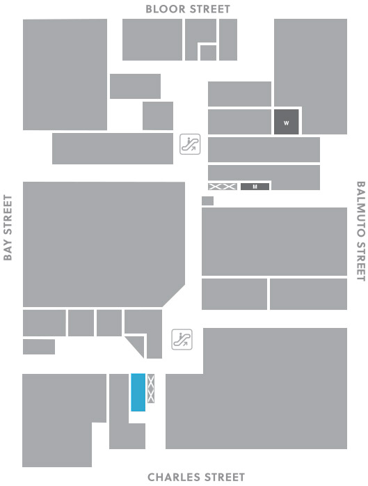Concourse level, A18 store mapped location