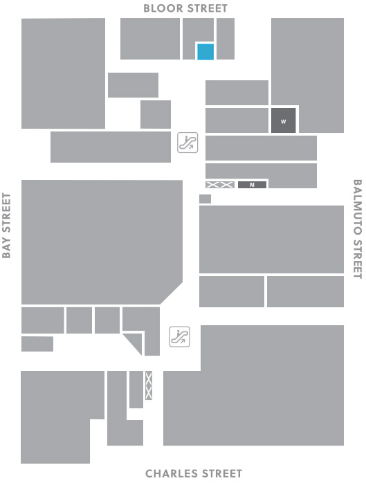 Concourse level, A2 store mapped location