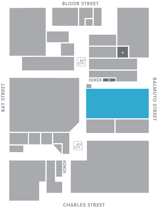 Concourse level, A22 store mapped location