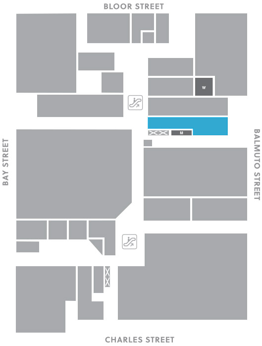 Concourse level, A24 store mapped location