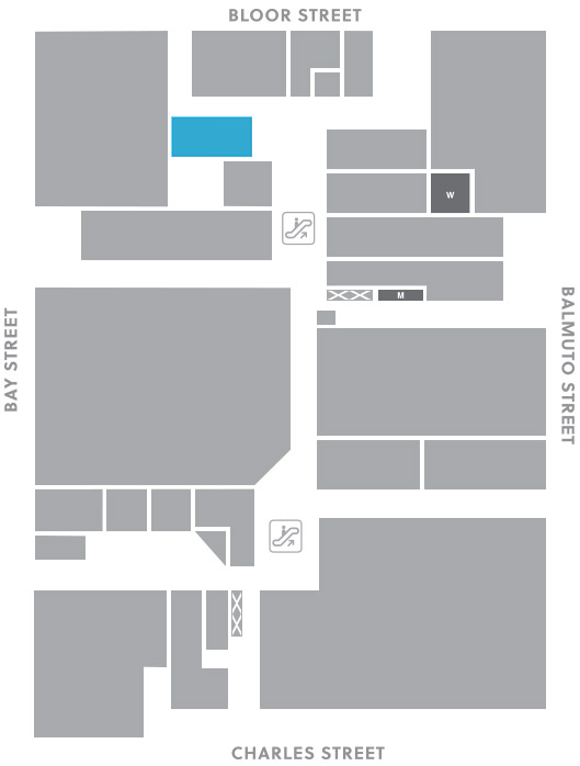 Concourse level, A6 store mapped location