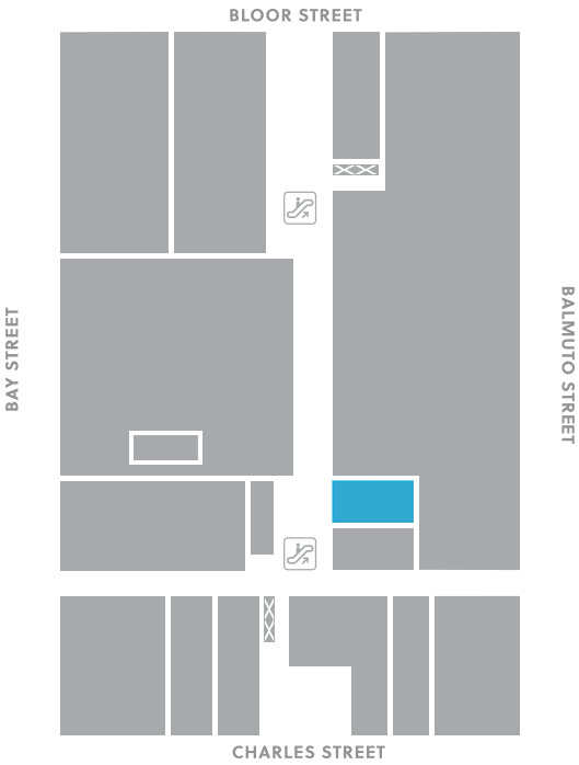 First level, B14 store mapped location