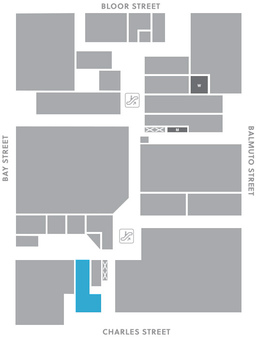 Concourse level, A17 store mapped location
