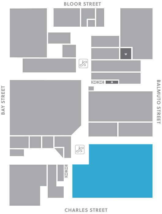 Concourse level, A19 store mapped location