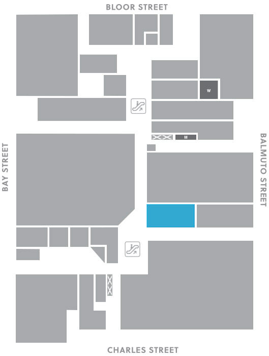 Concourse level, A20 store mapped location