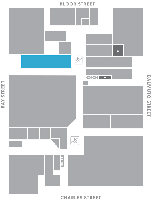 Concourse level, A8 store mapped location