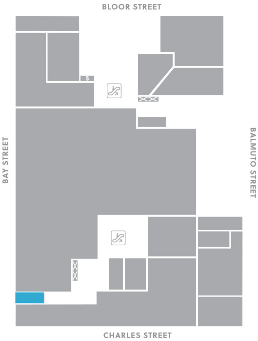 Second level, C5 store mapped location