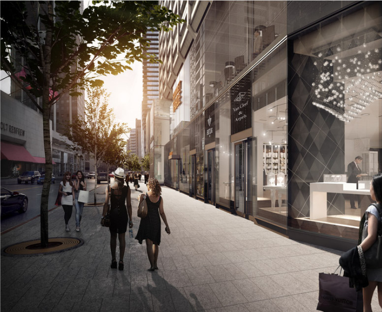 Redevelopment | Manulife Centre Shopping